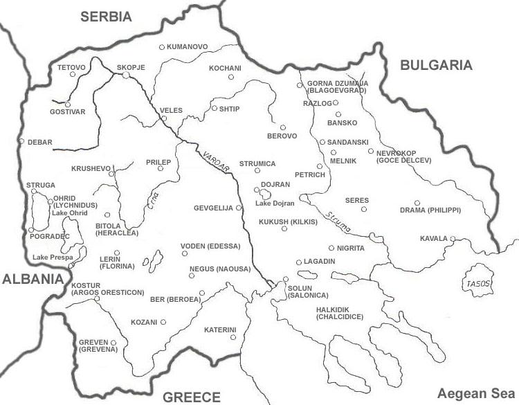 Kolku Gradovi Ima Makedoniјa Strana 4 Kaјgana Forum