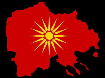 map of macedonia greece. Macedonia takes Greece to UN